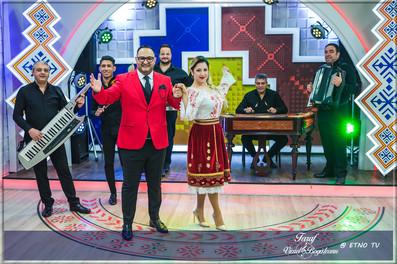 Taraful VIOREL BOGĂȚEANU la ETNO TV / Matinali și populari