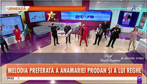 Taraful VIOREL BOGĂȚEANU la ANTENA STARS / Star Matinal