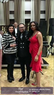 Împreună cu Adriana BAHMUȚEANU și LAURETTE