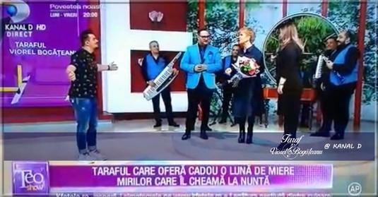 Taraful VIOREL BOGĂȚEANU la KANAL D / Teo Show