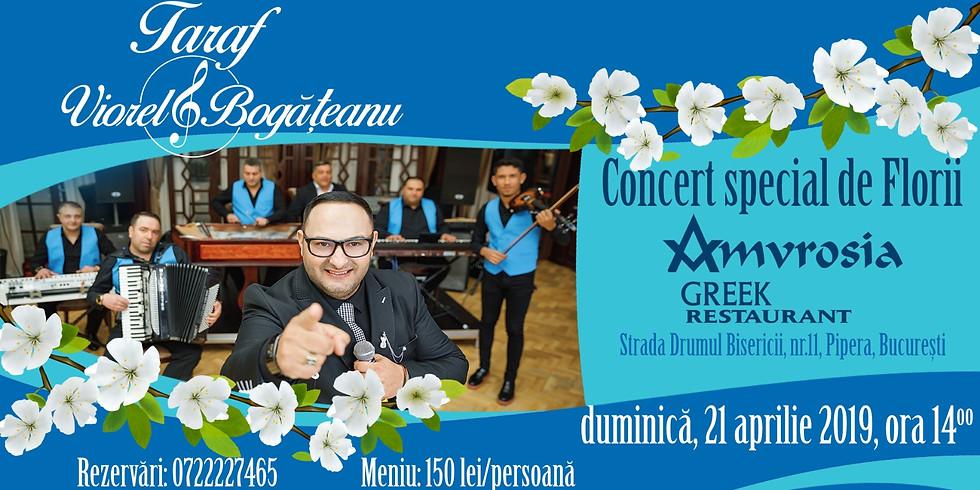 Concert special de Florii