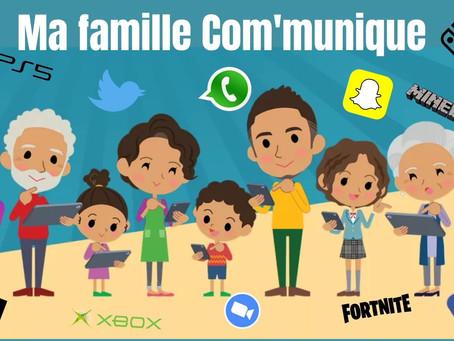 Ma famille, mes enfants et les écrans