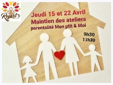 """Activités parentalité """"Mon p'tit & Moi """""""