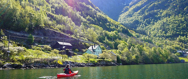 paddle in the hardangerfjord, stana gard have cottages for rent on airbnb