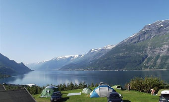 Loftus Camping stay here before paddling kayak Hardanger