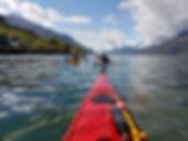 Hardangerfjord Folgefonna Glacier kayak rental close to Trolltunga