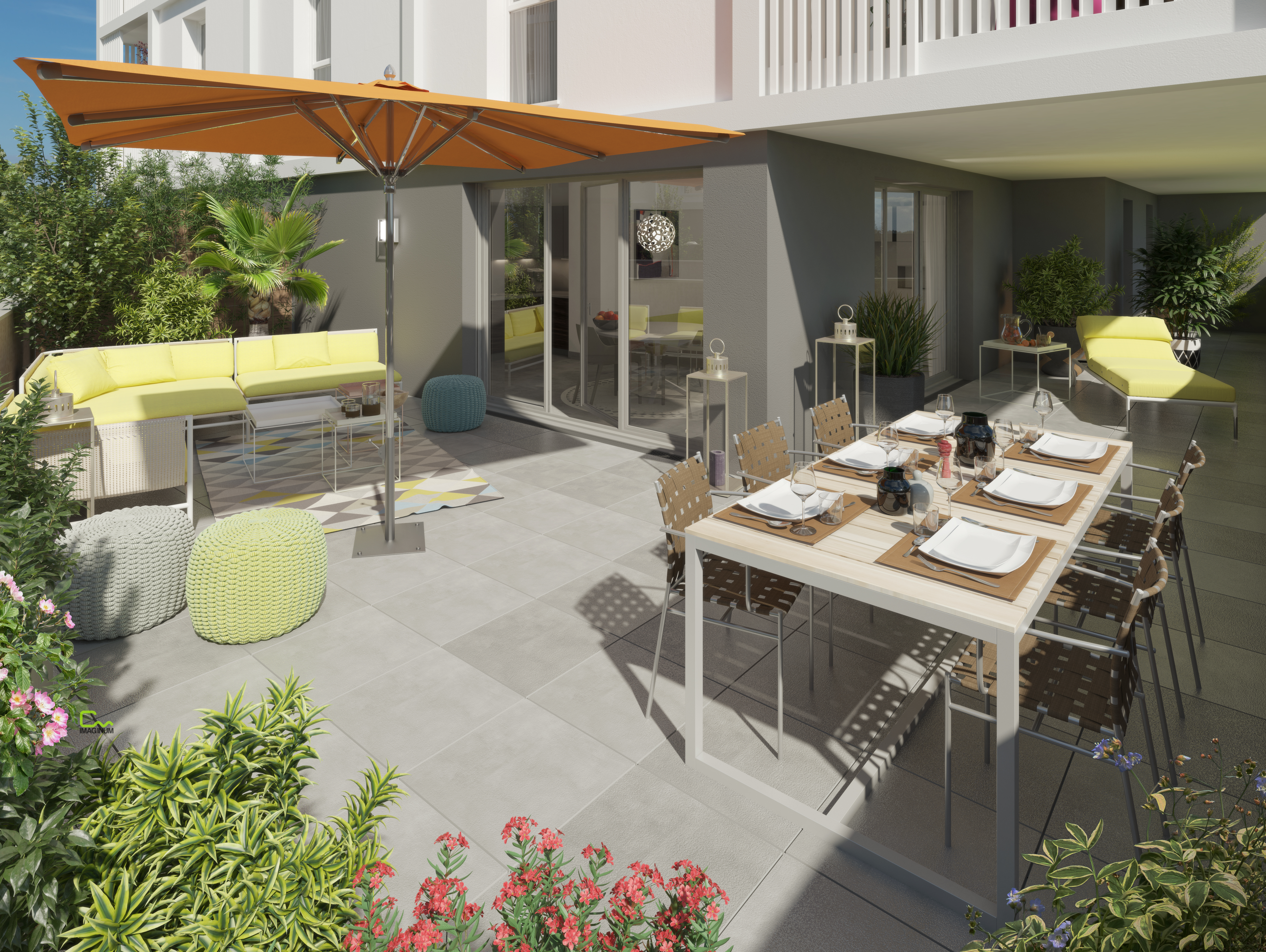 PERSPECTIVE  TERRASSE LOT106