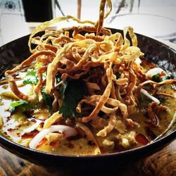 NorthernThai Curry noodles (Kao soi)