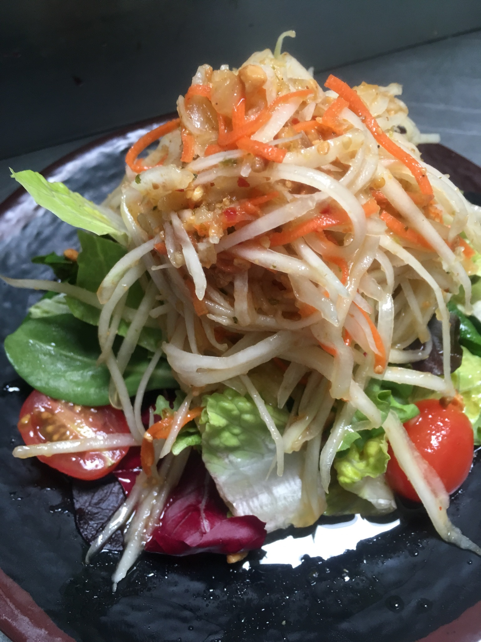 Princess papaya salad