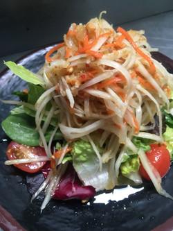 Princess papaya salad
