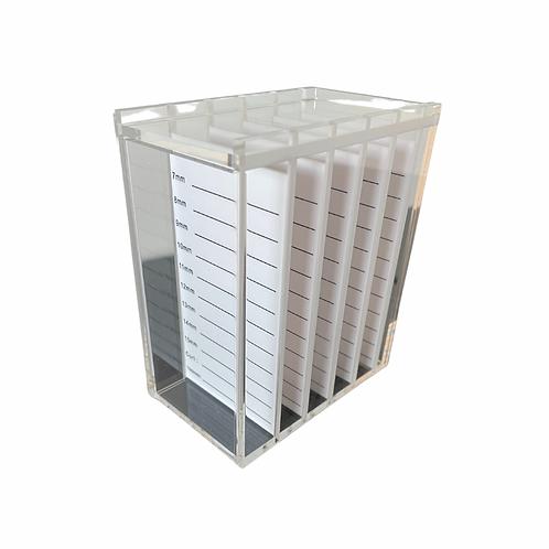 Mini Acrylic Lash Tile Box
