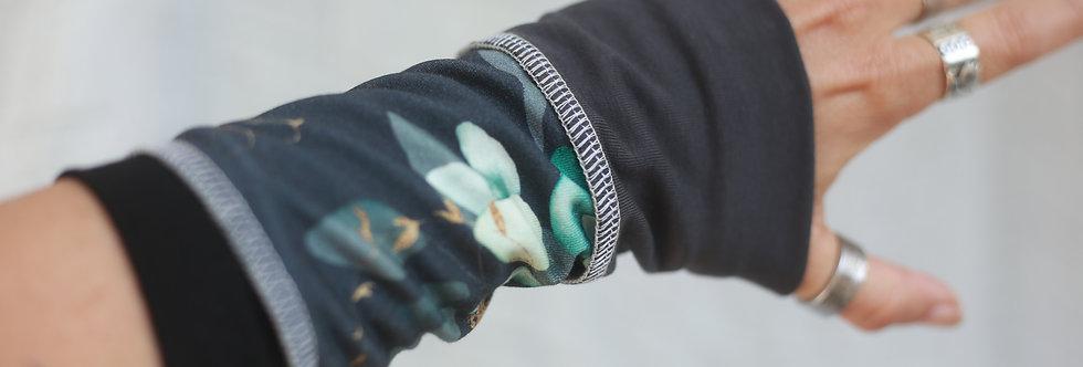 Armstulpen eukalyptus dark