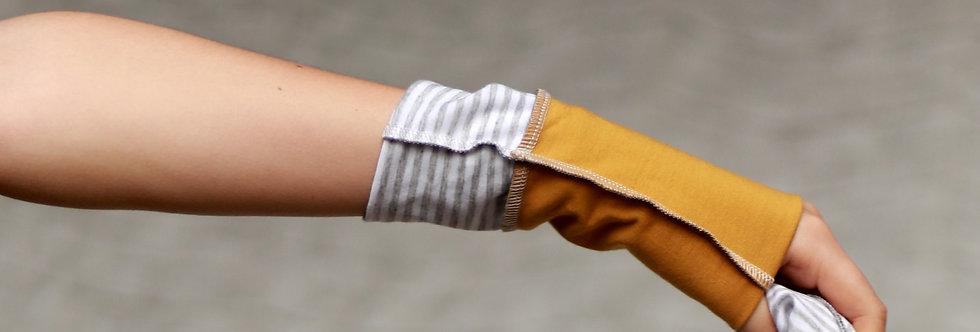 Armstulpen yellow