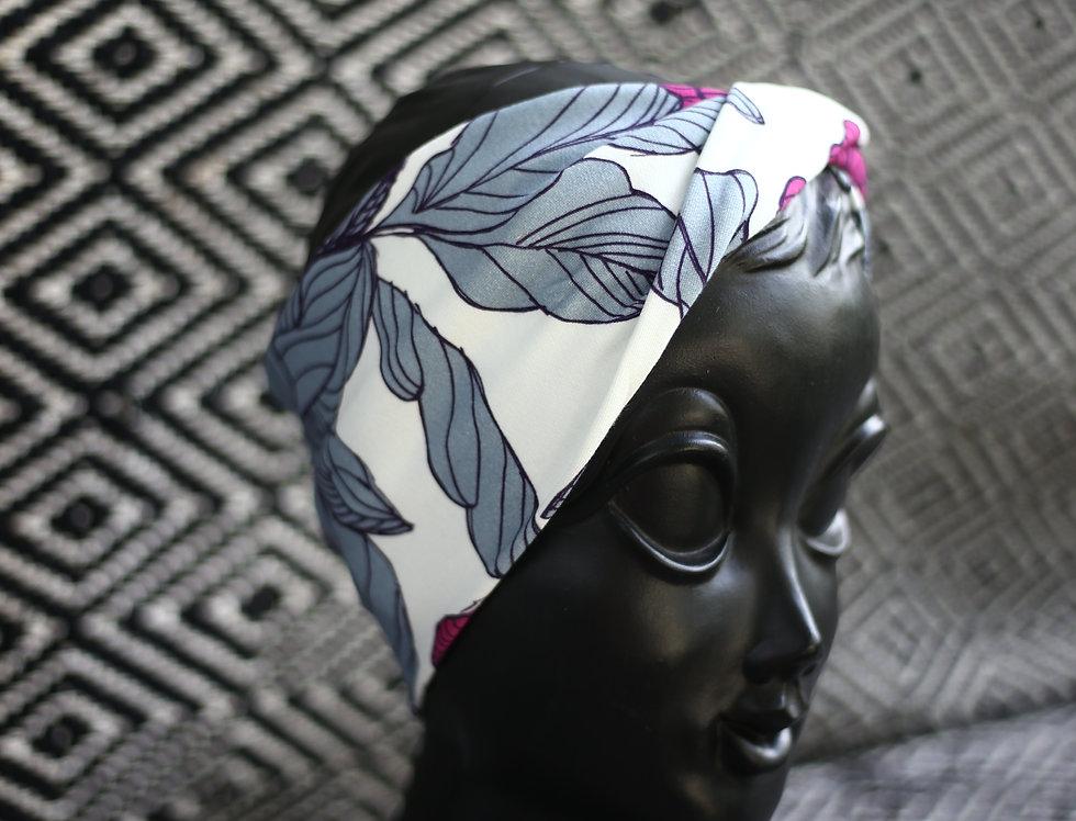 Haarband pink flowers