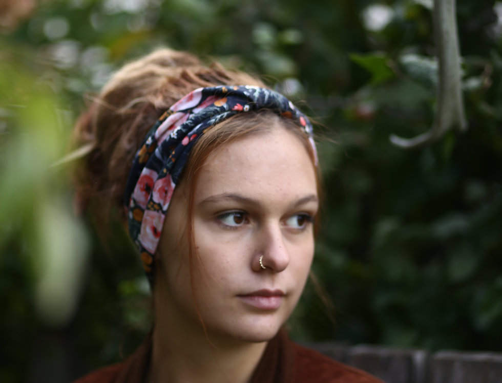 Haarband mango flowers