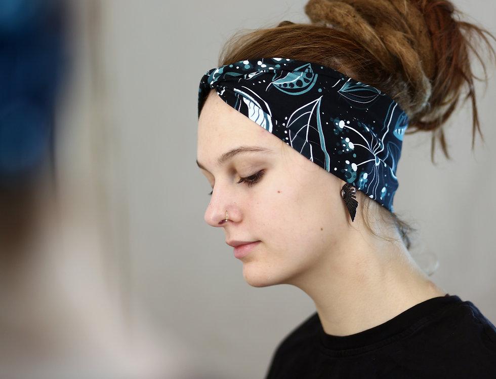 Haarband leaves aria