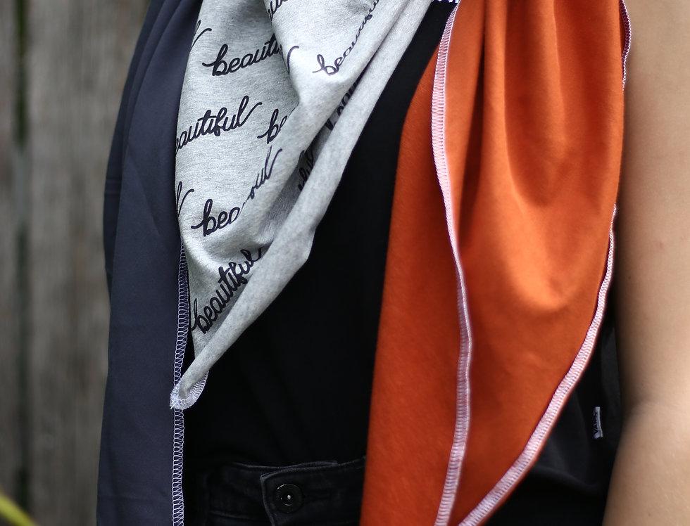Dreieckstuch beautiful orange