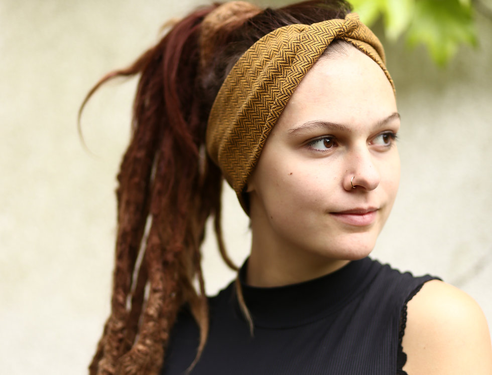 Haarband Edvin senf