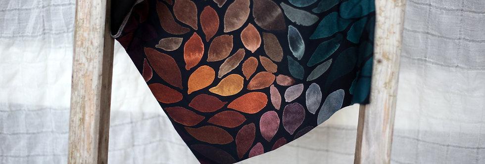 Hüftschal colour leaves mix