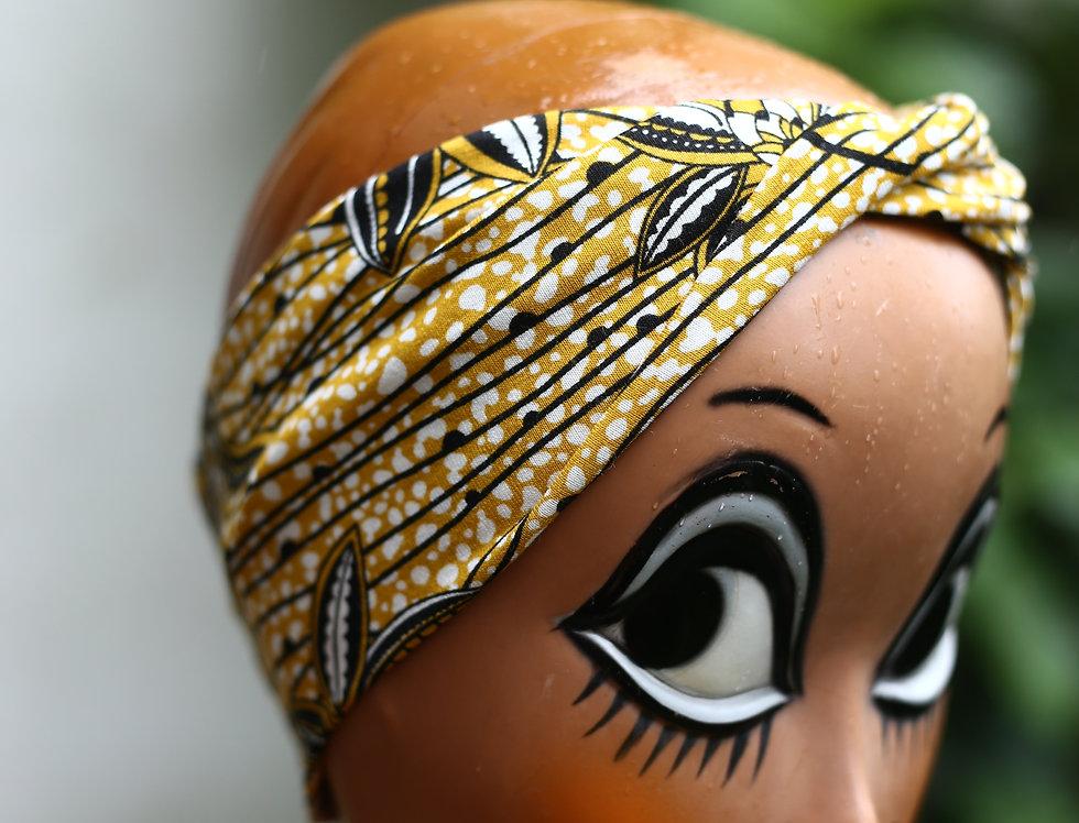 Haarband African flowers