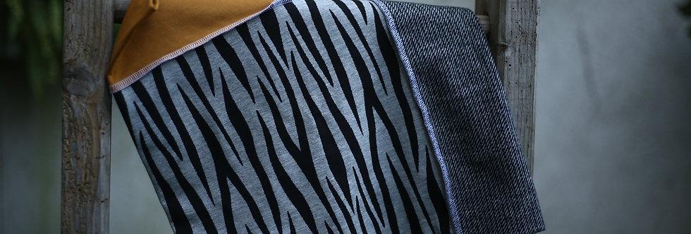 Hüftschal zebra stripes