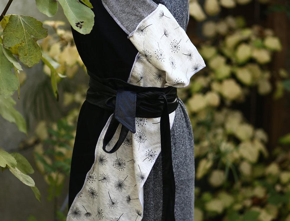 Wrap grey dandelion