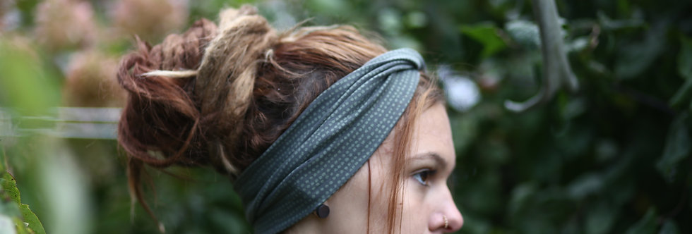 Haarband bio dots