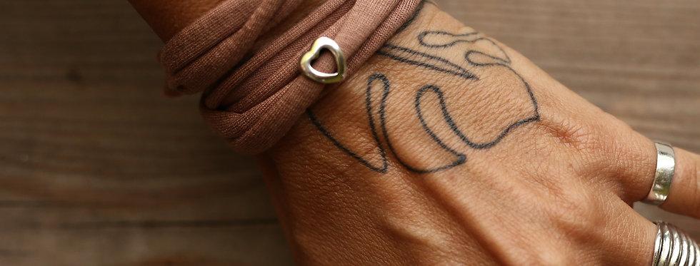 Armband Herz offen