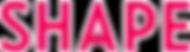 Logo- Shape