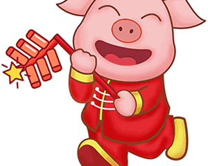 Happy Year of the Earth Pig!