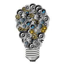 lightbulb & gears & innovation
