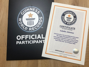 Juicy News: Isabella Johnston, the Intern Whisperer, is a GUINNESS WORLD RECORD Participant