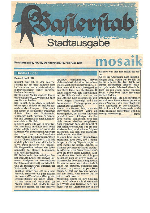 1987 Baslerstab-Besuch bei Lotti-Text von minu