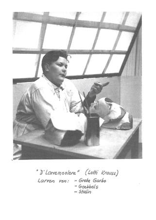 1938 Resslirytti D'Larvemoolere aus dem Programm d' L a r v e - n - ab !