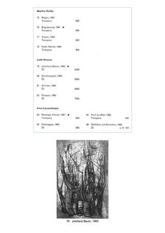 1965 G.S.M.B.K. Gruppenausstellung 2