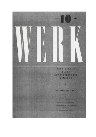 1951 WERK Gruppenausstellung