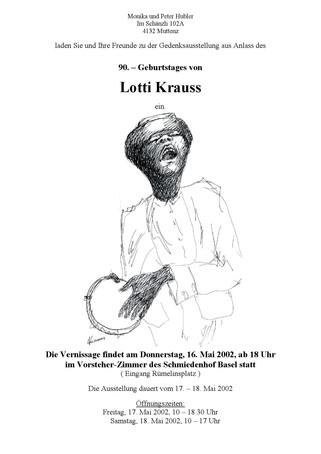2002 Ausstellung Lotti Krauss (Bild)