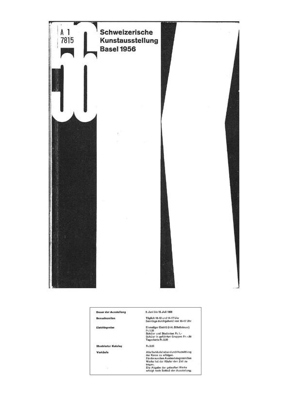 1956 Gruppenausstellung Katalog