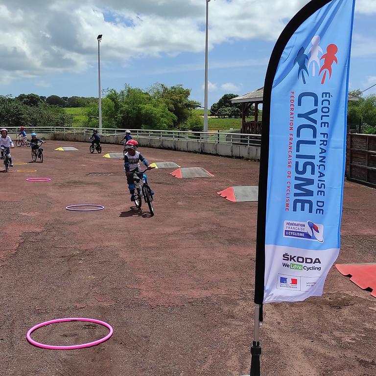 Aout  Stages vacances BMX Guadeloupe 2021