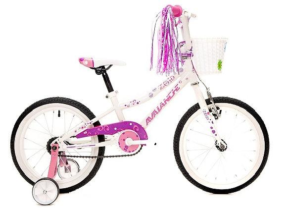 """Combo ZOID 16"""" Girls 2020 + Pink Helmet"""