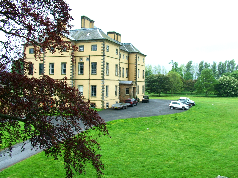 Main Entrance Grounds
