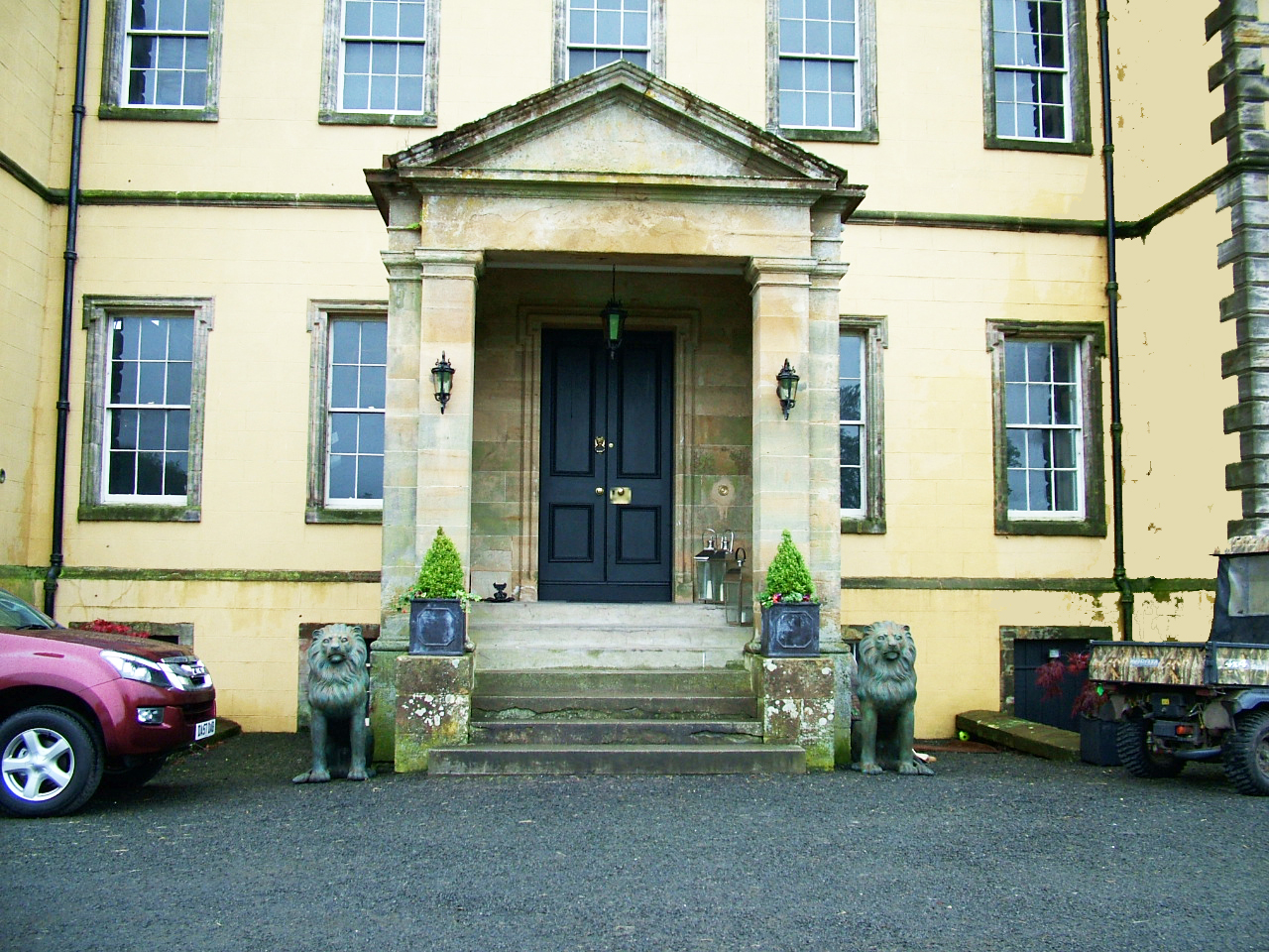 Melville House Entrance