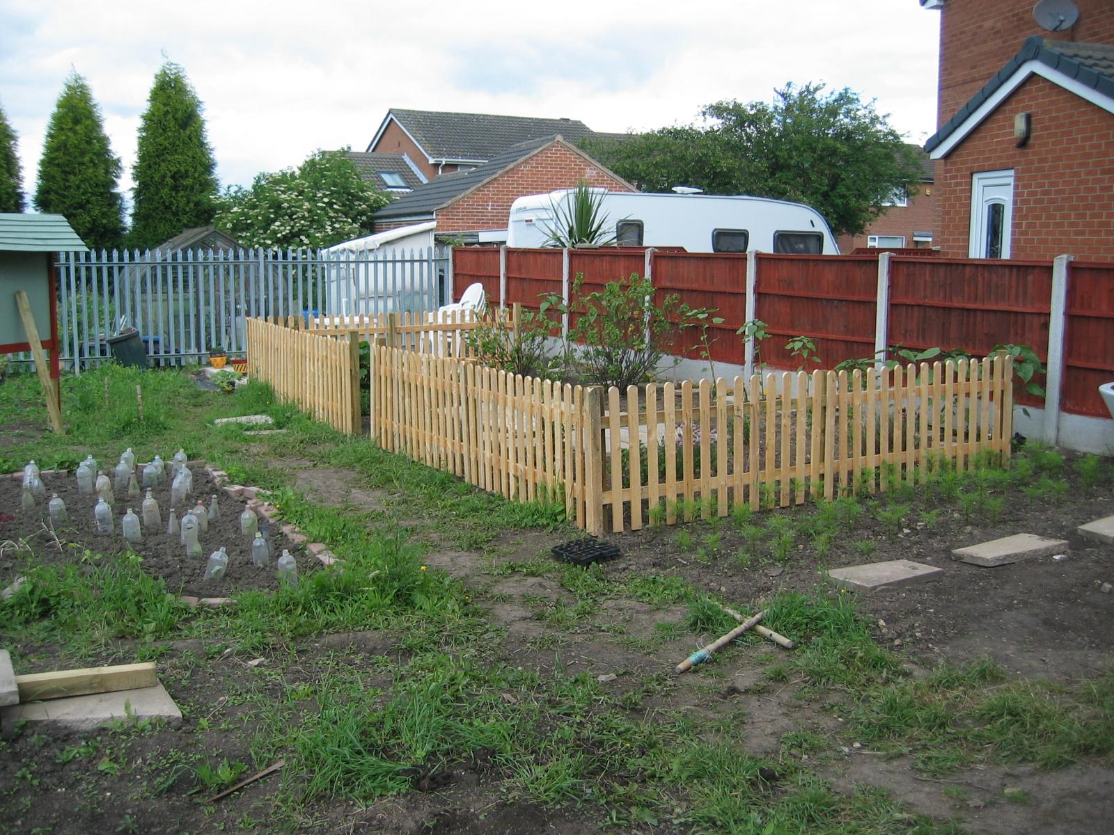 Soft Fruit Area Fenced