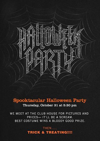 Samrya Halloween Party