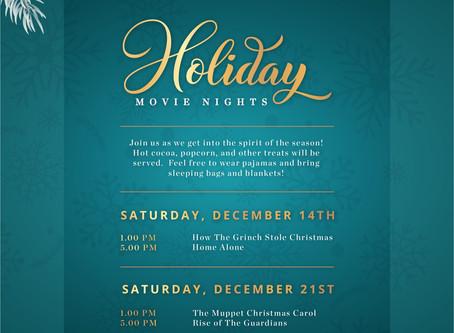 Holiday Movie Nights