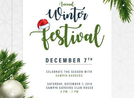 Samrya Garden's Annual Winter Festival