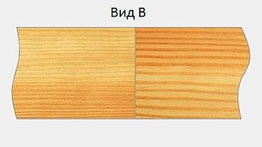 Заготовки для изготовления элементов интерьера из сращенного бруска