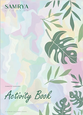 Kid's Activity Book