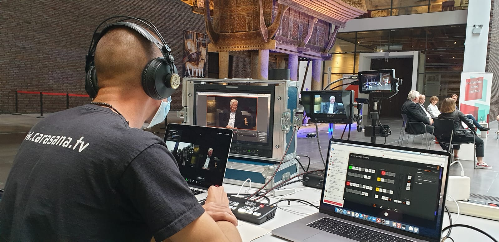 Streaming mit der Kölner OB