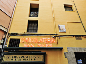 MADRID · CHURROS + CHOCOLATE